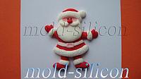 "Силиконовый молд ""Санта Клаус и подарки"""