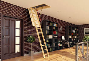 Чердачная лестница Fakro Komfort LWK 280 см 60х120 мм