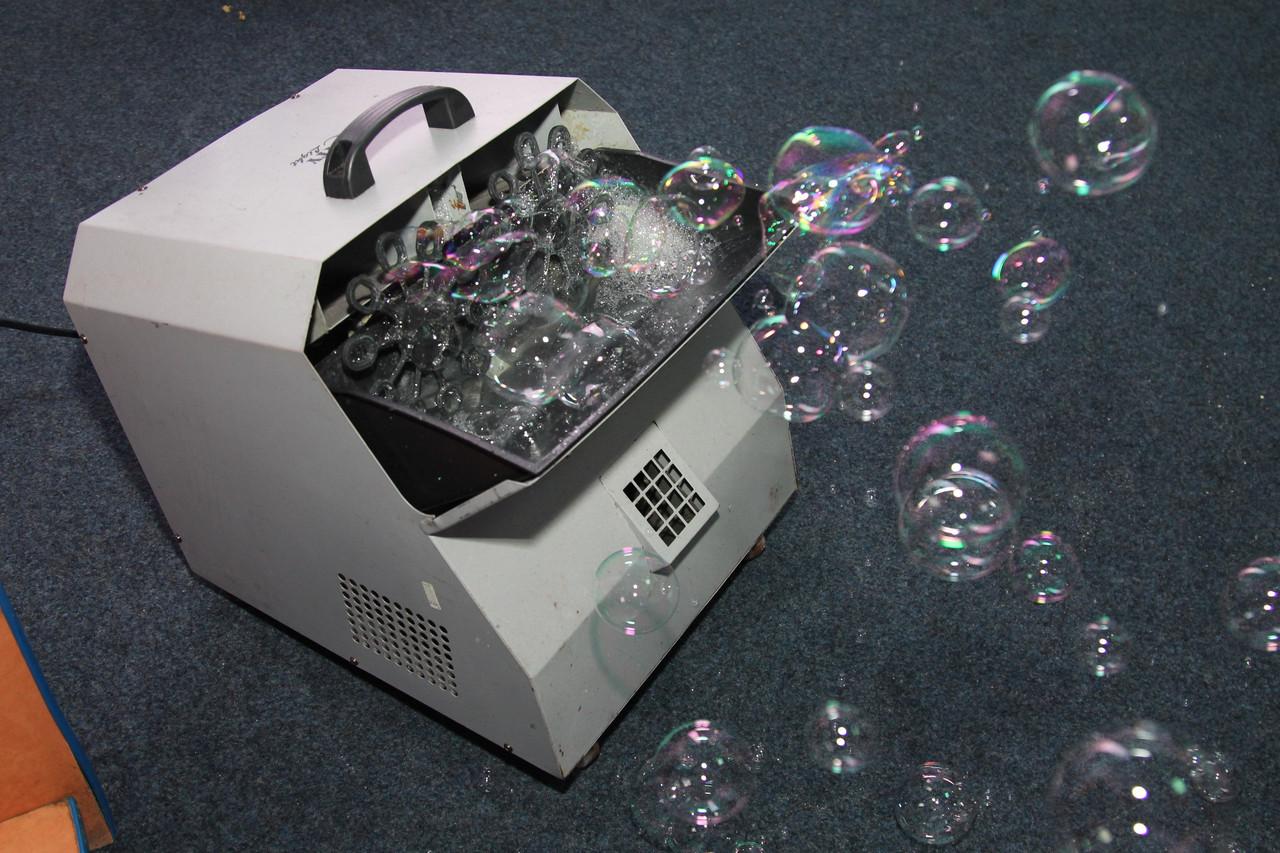 Большой генератор мыльных пузырей. Аренда в Николаеве