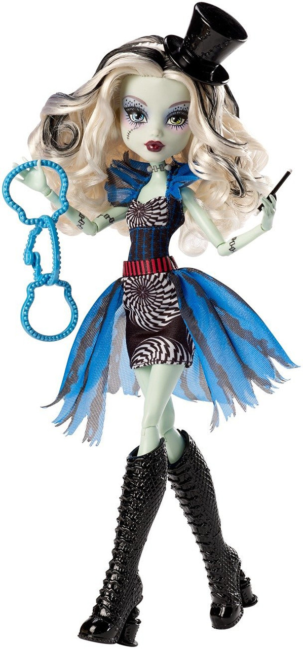 Кукла Монстер Хай оригинальная Фрэнки Штейн Фрик ду Чик Monster High Freak du Chic Frankie Stein Doll