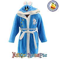 Махровые халаты для девочки и мальчика от 5 до 8 лет Турция (4893-3)