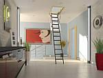 Чердачная лестница Fakro Komfort LMK 280 см 60х120, фото 4