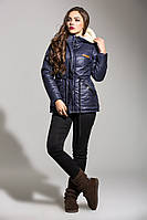 Женская куртка-парка тёплая