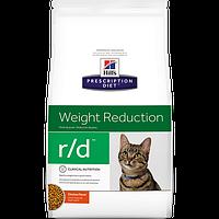 Hills (Хилс) Prescription Diet R/D (5 кг) лечебный корм для кошек для снижения веса