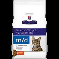Hills (Хилс) Prescription Diet Feline m/d (1.5 кг) лечебный корм для кошек