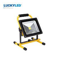 Портативный аккумуляторный прожектор 201 Led flood light 30 W