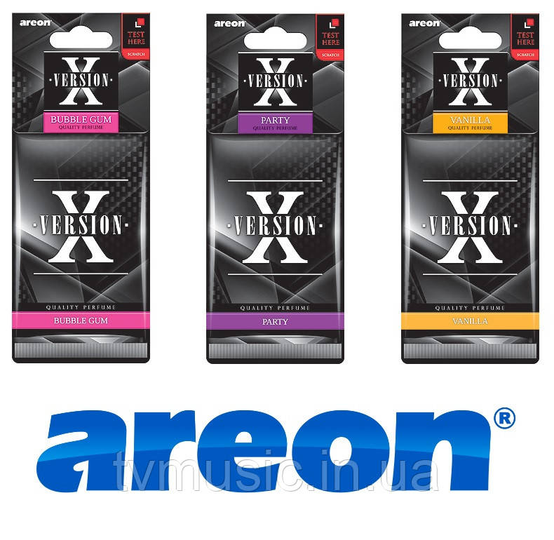 Ароматизатор Areon X Version