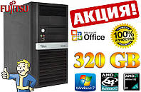 АКЦИЯ!!! ПК ZEVS PC1000M 320GB Win7 + Office!