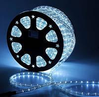 Дюралайт светодиодный LED 2-х полюсный белый, длина 50 м