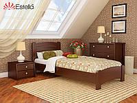 """Деревянная кровать """"Венеция Люкс"""" 800х1900 (массив)"""