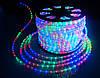 Дюралайт светодиодный LED 2-х полюсный цветной, длина 100 м