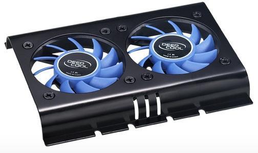 Кулер для жесткого диска Deepcool ICEDISK 2, вентилятор для винчестера