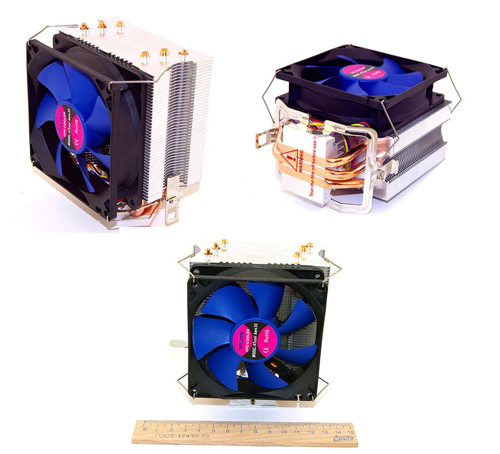 Кулер ATcool Aero X3 для AMD/Intel, система охлаждения для пк, вентиля