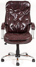 Кресло для руководителя Венеция хром к/з Флай/Неаполь