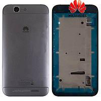 Корпус для Huawei Ascend G7, оригинал (черный)