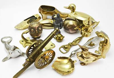 Коллекционные миниатюры, скульптуры, бронза, латунь, олово