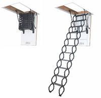 Ножничная чердачная лестница Fakro LST (Факро ЛСТ) 280 см 70х80