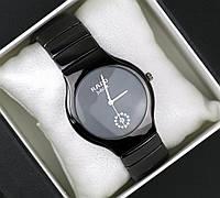 Часы женские наручные Rado jubile черные, магазин часов