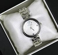Часы женские наручные Versace серебро с белым, магазин часов