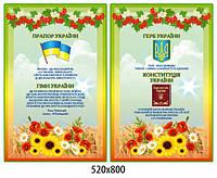 Комплект стендів Державеа символіка - 3719