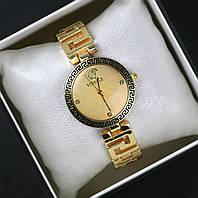 Часы женские наручные Versace золотые, магазин часов