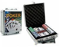 Покерный набор в кейсе №100с