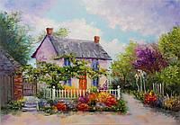 «Сказочный домик» картина маслом