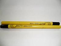 """Механический карандаш для глаз """"MAYBELLINE"""" черный 0891"""