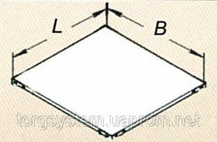 Полка ССЛ 1200х600 для складского стеллажа