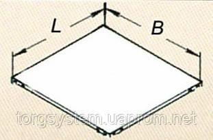 Полка ССЛ 600х400 для складского стеллажа