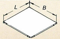Полка ССЛ 600х600 для складского стеллажа