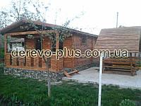 Дача деревянная