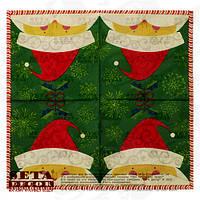 Салфетки Санта Краус бумажные набор из 20 шт