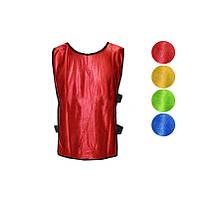 Манішка чоловіча одностороння CO-4000-R (PL, р-р XL-65*45+14см, з резинкою, червона)