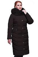 длинное зимнее пальто большого размера  Дайкири в Украине по низким ценам