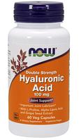 Гиалуроновая кислота, Now Foods, Hyaluronic Acid - Double Strength, (100mg) 60 vcaps