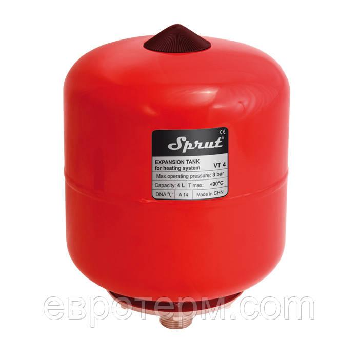 Расширительный бак для систем отопления Sprut VT5 5 литров