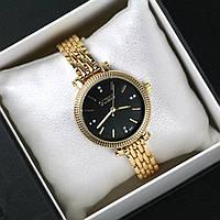Женские часы Guess Lady золото с черным, магазин часы 2016