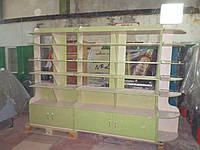 Торговый стеллаж из ДСП, фото 1