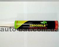 Герметик автомобильный для швов (полиуретановый) CROCODILE, белый, 310 мл