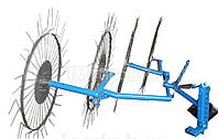 Грабли-ворошилки (Солнышко) на 4 колеса ПроТек