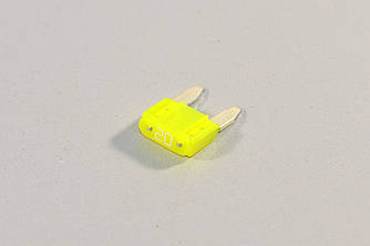 Запобіжник (жовтий) 20A на Renault — Renault (Оригінал) - 7700410576