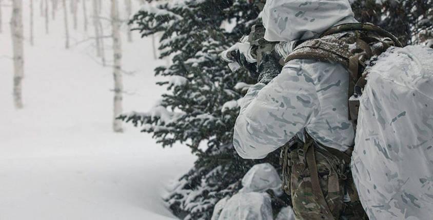 """Костюм маскировочный (маскхалат) белый """"Multicam Alpine"""", фото 2"""