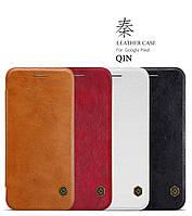 Кожаный чехол Nillkin Qin для Google Pixel (4 цвета)