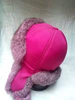 Меховая шапка ушанка (детская и подросток)