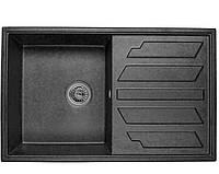 Гранитная мойка Minola MPG 1150-79 черный