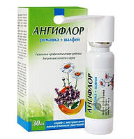 Ангифлор спрей для полости рта ромашка + шалфей