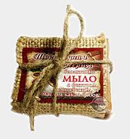 Мыло с фитором, глицерином и маслом какао-бобов