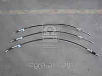 Трос ручного тормоза (3302-3508800) ГАЗ 3302 (передн. + 2 задних) (пр-во Россия)