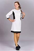 Модное детское платье белого цвета